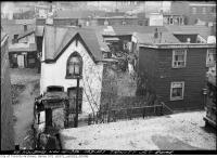 Historic photo from Wednesday, November 18, 1936 - 103-107 Trinity Street - rear in Corktown
