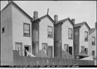 Historic photo from Thursday, September 9, 1937 - After - 38-44 Bright Street rear after repairs in Corktown