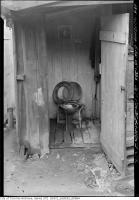 Historic photo from Thursday, September 15, 1938 - Old toilet at 167 Sherbourne Street in Cabbagetown South