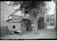 Historic photo from Wednesday, June 7, 1939 - 436 Wellesley rear (June 13) in Riverdale