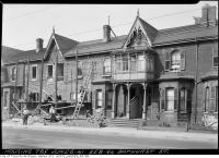 Historic photo from Friday, June 6, 1941 - Construction at 258-64 Bathurst Street in Trinity Bellwoods