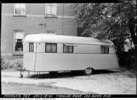 Historic photo from Friday, July 18, 1941 - Trailer - rear 133 and 154 Dunn Avenue in Parkdale