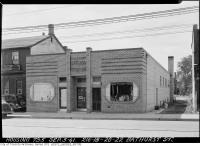 Historic photo from Wednesday, September 3, 1941 - 216-18-20 Bathurst Street - Oak Leaf Steam Baths in Trinity Bellwoods