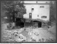 Historic photo from 1921 - Not so grand view looking east of the west elevation of Woodlawn during renovation? in Summerhill