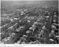 Historic photo from 1935 - Aerial view north of Lonsdale Rd. and west of Dunvegan Rd.  in Forest Hill