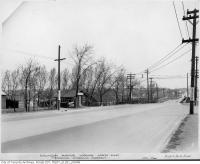 Historic photo from Wednesday, April 20, 1938 - Eglinton Ave and Spadina Rd., looking north-east in Forest Hill