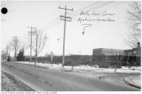 Historic photo from 1915 - Spadina Rd. at Hawarden Cres near schools in Forest Hill