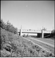 Historic photo from 1934 - Bridge over Bathurst St. on Old Forest Hill Rd. in Forest Hill
