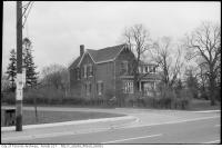 Historic photo from 1960 - 3 photos of the Robert Earl Bales residence (former Reeve of North York) in Willowdale