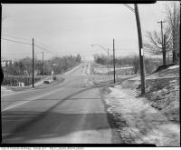 Historic photo from 1960 - Finch Avenue East at Bayview - looking east in Willowdale