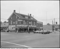 Historic photo from 1967 - Dempsey Brothers at the corner of Yonge and Sheppard in Willowdale