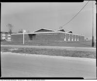 Historic photo from 1962 - Lawrence Heights Community Centre (now Barbara Frum Community Centre) in Lawrence Heights