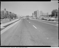 Historic photo from 1964 - Looking east on Lawrence Avenue East from the west side of Don Mills Road in Don Mills