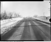 Historic photo from 1963 - Bridge on Maple Leaf Drive over Humber River in Amesbury