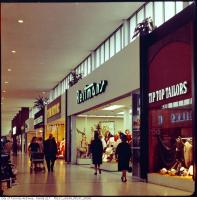 Historic photo from 1965 - Yorkdale Shopping Centre - Tip Top Tailors, Reitmans, Penningtons and Jack Fraser in Yorkdale