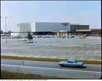 Historic photo from 1965 - Partially completed Yorkdale Mall in Yorkdale
