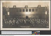 Historic photo from 1926 - Massey Hall - Toronto Symphony Orchestra fifth season, 1926-1927 in Garden District