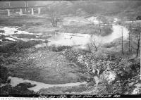Historic photo from Wednesday, December 30, 1931 - Looking across the Don River Valley from Helliwells bush to the Brick Works in Don Valley Brickworks