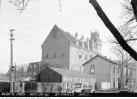 Historic photo from Wednesday, November 26, 1941 - St. Pauls Hall after November 1941 fire in Yorkville
