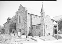 Historic photo from 1939 - Grace Church on the Hill, Russell Hill Road and Lonsdale, exterior in Forest Hill