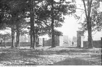 Historic photo from 1912 - Baby Point Gate in 1912 in Baby Point