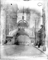 Historic photo from 1901 - Arch on Bay Street at Richmond Street for Duke and Duchess of Cornwall and York in City Hall