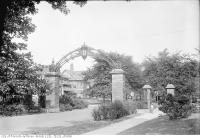 Historic photo from Thursday, August 6, 1931 - Howard Memorial Gates, High Park Boulevard in High Park