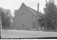 Historic photo from Tuesday, July 4, 1922 - Gerrard Street Methodist Church, northeast corner of River and Gerrard streets in Riverdale
