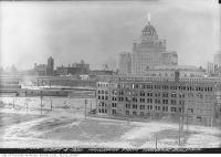 Historic photo from Thursday, September 4, 1930 - View of Toronto northwest from Toronto Harbour Commission in Harbourfront