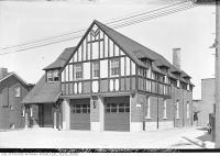 Historic photo from Thursday, March 30, 1933 - Montgomery firehall in North Toronto, just west of Yonge Street in North Toronto