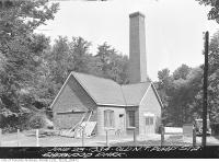 Historic photo from Thursday, June 28, 1934 - Sherwood Park, old North Toronto Pumping Station in Sherwood Park