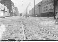 Historic photo from Thursday, July 17, 1919 - Front Street looking east over York Street - Union Station on the right in Downtown