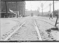 Historic photo from Thursday, July 17, 1919 - Front Street looking east over Bay Street in Downtown