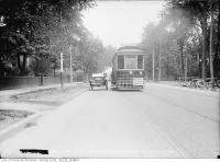 Historic photo from Friday, May 28, 1915 - Bloor Street widening at Jarvis Street in Upper Jarvis