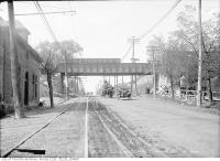 Historic photo from Thursday, May 6, 1915 - G.T.R. subway over Yonge Street - Belt Line Bridge in Mount Pleasant Cemetery