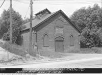 Historic photo from Thursday, June 28, 1934 - Old West Toronto Waterworks Pumping Station, Ellis Avenue in Swansea