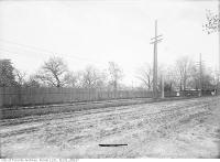 Historic photo from Thursday, May 23, 1912 - Vaughan Road, west side, just north at Bathurst Street in Hillcrest-Bracondale