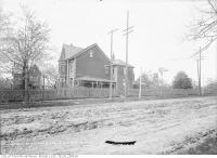 Historic photo from Thursday, May 23, 1912 - Vaughan Road, northwest from Bathurst Street in Hillcrest-Bracondale