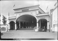 Historic photo from Thursday, August 28, 1919 - Entrance to the Cascades, Scarborough Beach Park in The Beaches