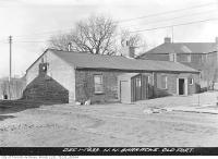 Historic photo from Friday, December 1, 1933 - Northwest Barracks, old Fort York in Fort York