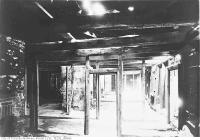 Historic photo from Friday, December 22, 1933 - Fort York, interior of officers quarters during restoration in Fort York