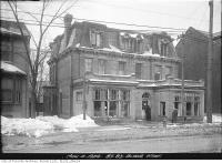 Historic photo from Tuesday, March 4, 1924 - No. 83-85 Bloor Street West in Yorkville
