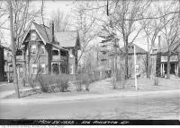 Historic photo from Tuesday, March 26, 1935 - No. 336 Annette Street, Wm. Wilson residence, Annette Street west of Laws Street in The Junction