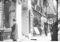 Historic photo from Tuesday, April 8, 1913 - Red Mill Theatre opened 1906 by John Griffin under the name of The Theatorium in Garden District