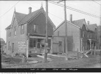 Historic photo from Wednesday, November 30, 1921 - W. J. Lawrence Real Estate at 974-1982 Yonge Street corner of Imperial Street in Chaplin Estates