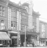 Historic photo from 1919 - Midtown Theatre - Madison Theatre at the time of the photo - College Inn Lunch next door in The Annex