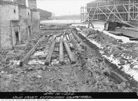 Historic photo from Tuesday, January 16, 1934 - Fort York Restoration of Officers quarters in Fort York