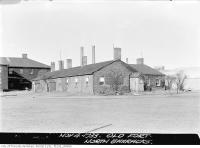 Historic photo from Saturday, November 4, 1933 - Fort York, North Barracks in Fort York