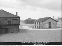 Historic photo from Tuesday, May 22, 1934 - Old Fort York, restored in Fort York