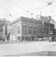 Historic photo from 1919 - Tivoli Theatre block on the southwest corner of Richmond and Victoria streets in Downtown